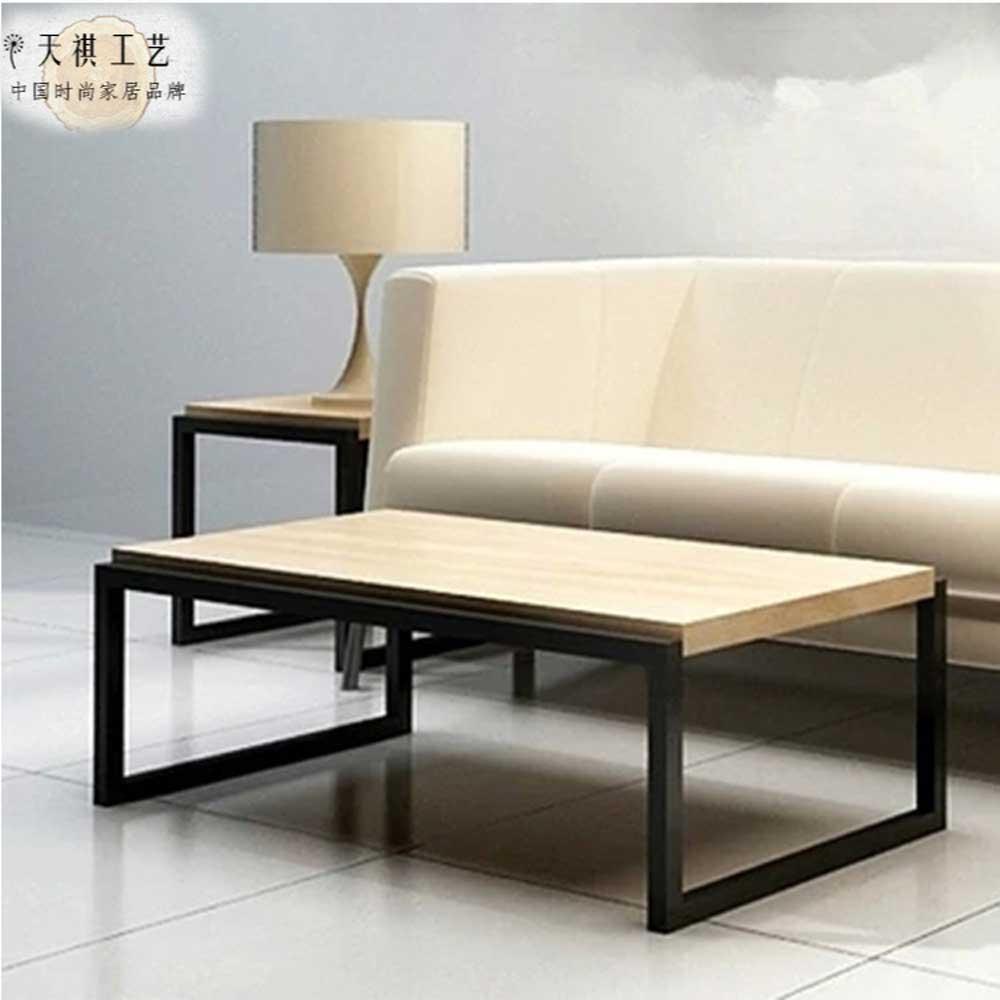 客厅铁艺沙发边几角几电话桌